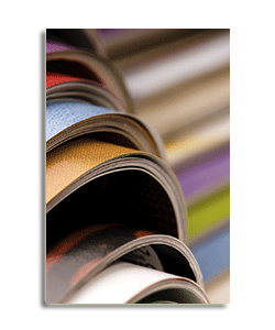 Hammond Bindery - accredited book binding and print finishing services,  to ISO 9001 quality standard and ISO 14001 environmental standard.
